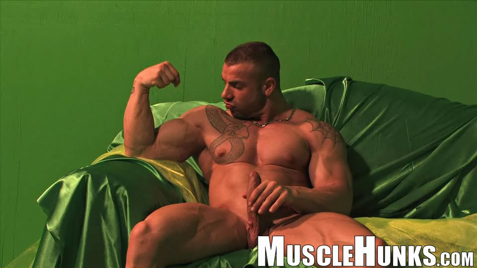 Muscle hunk max hilton